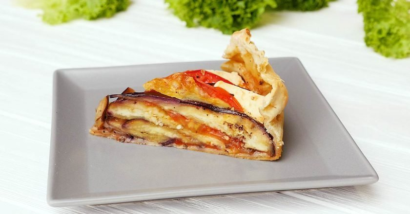 Пиріг з баклажанів - готуємо з покроковими фото