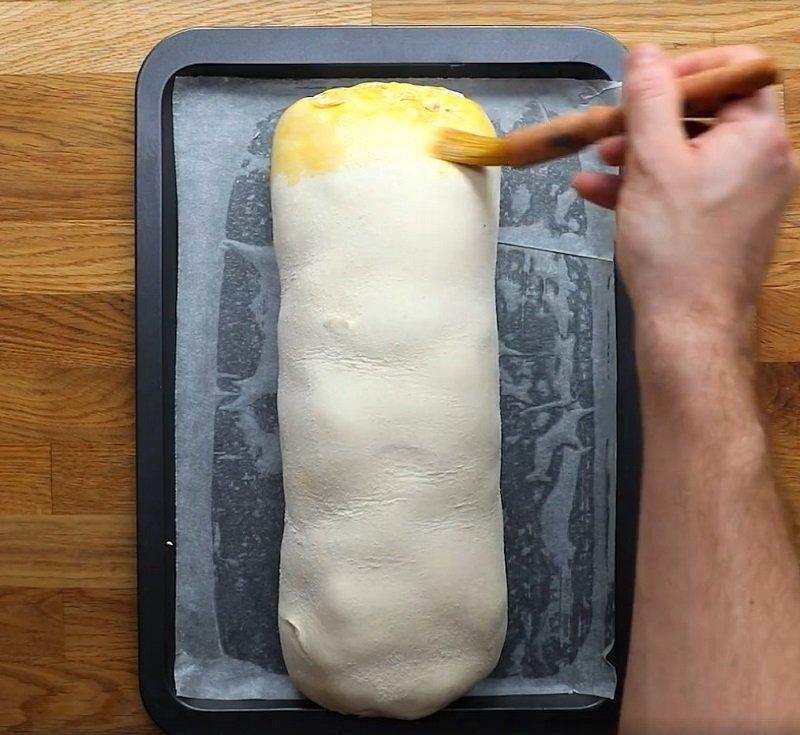 пирог из куриных грудок
