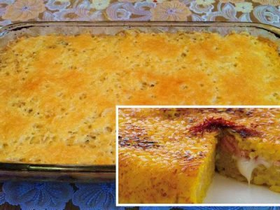 Пирог из риса