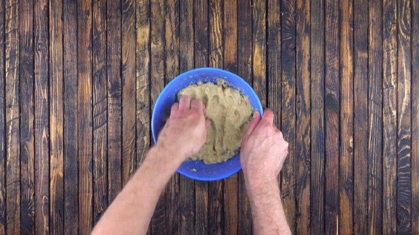 тесто из хлеба