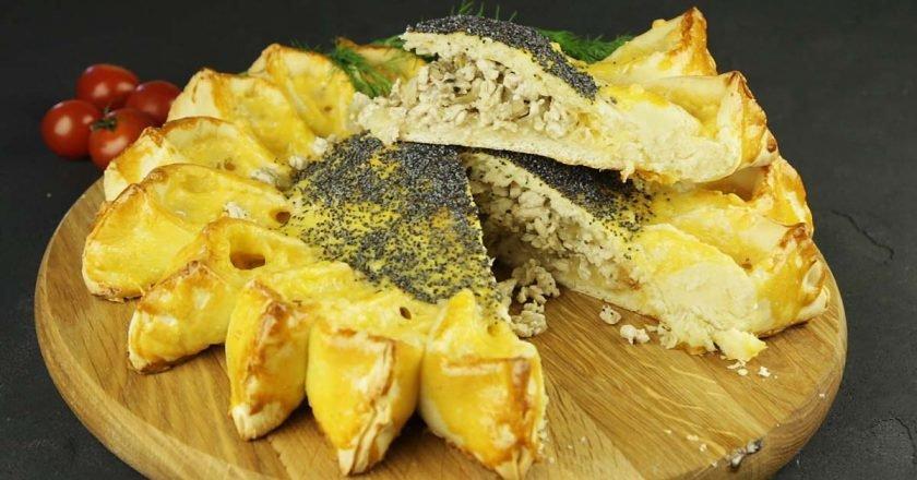 Пиріг «Соняшник» - готуємо з покроковими фото