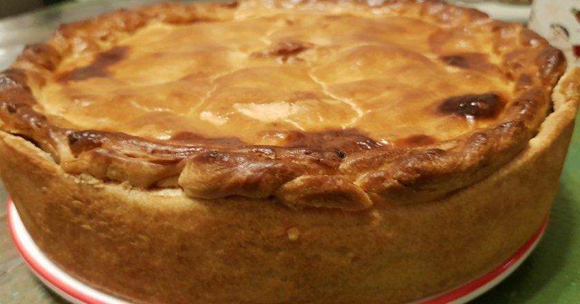 Пирог с горохом