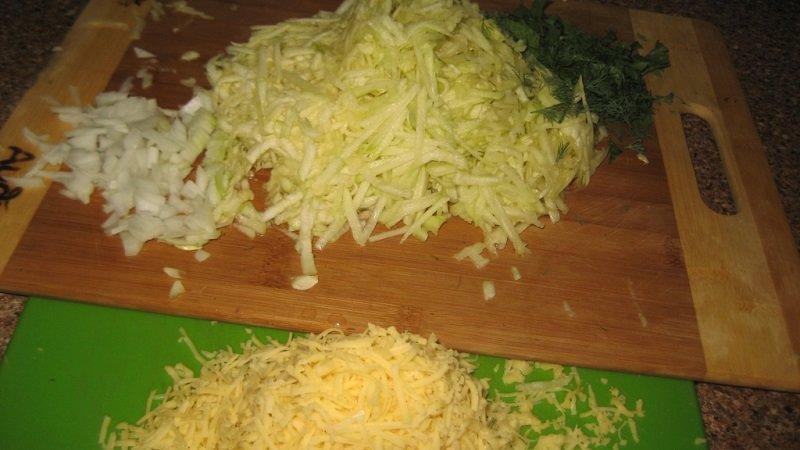 рецепт кабачкового пирога