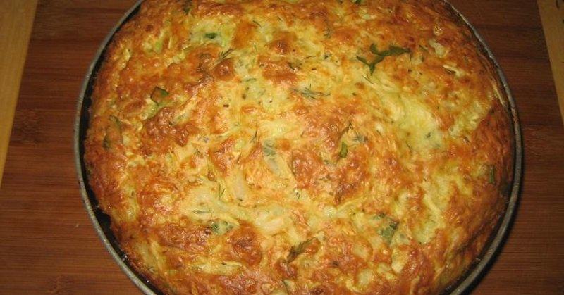 приготовление овощного пирога