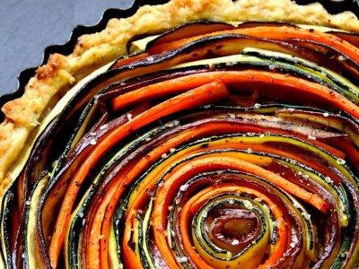 Пирог с овощами