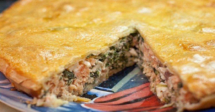 Пиріг з рибою в духовці - готуємо з покроковими фото