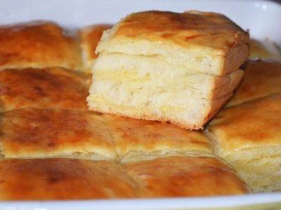 Пирог с твердым сыром