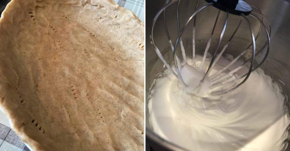 Пісочний пиріг з сирно-ягідною начинкою