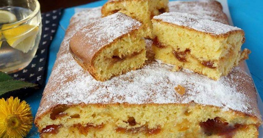 Как приготовить пирог с вареньем в духовке с малиновым вареньем 5