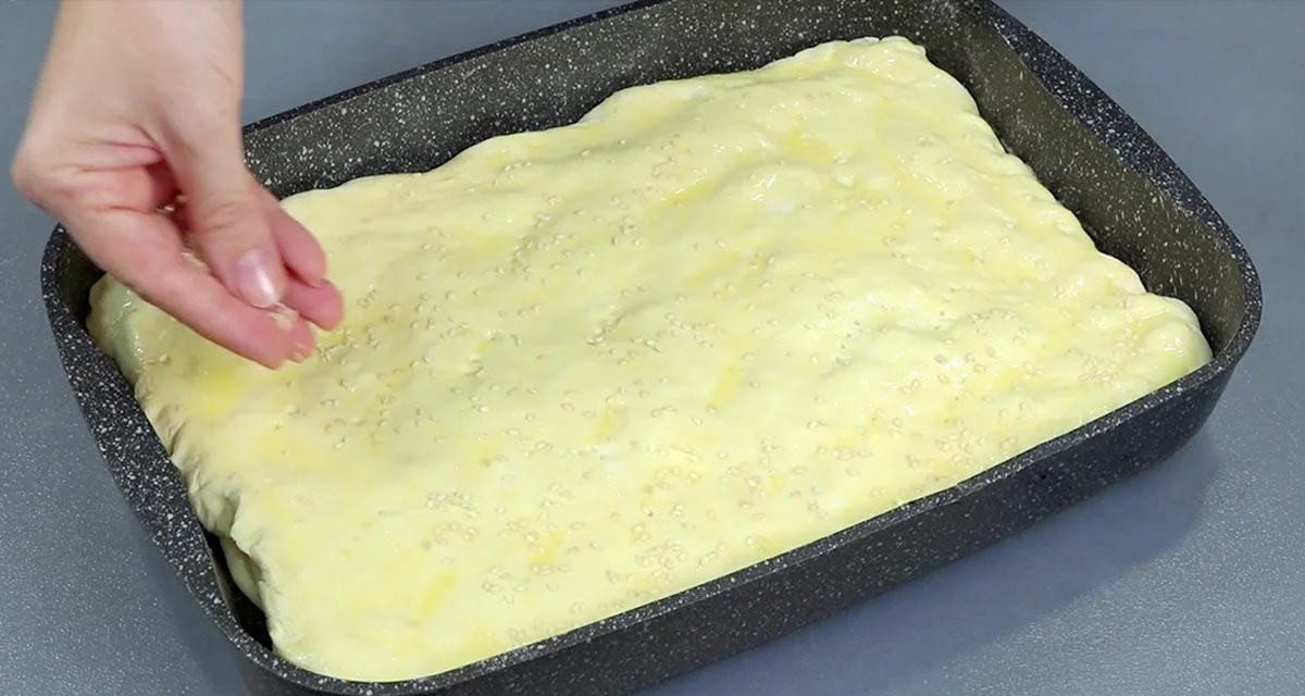 рецепт пирога с зеленым луком