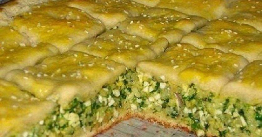 Пиріг з зеленню - готуємо з покроковими фото