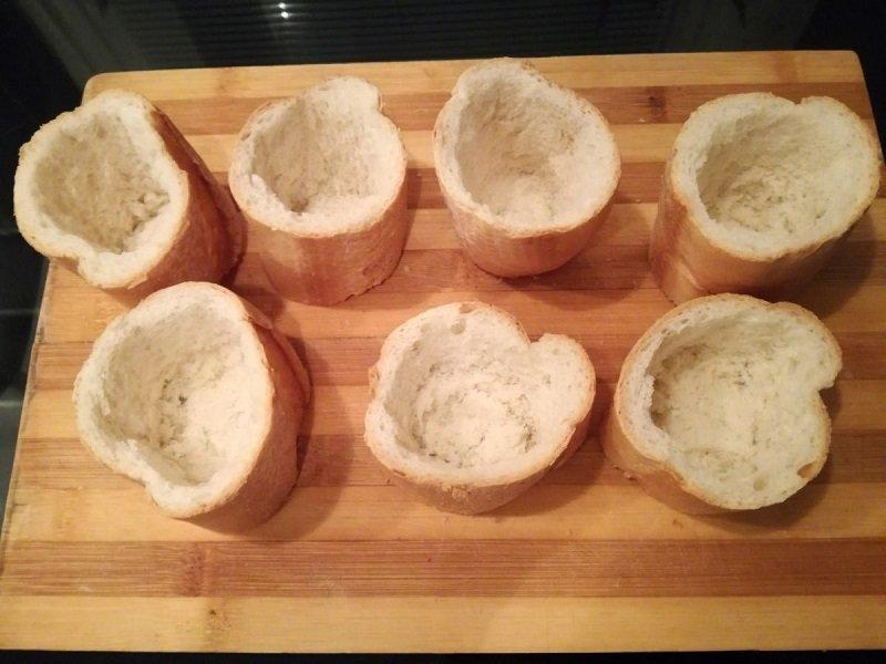 пирожки из багета