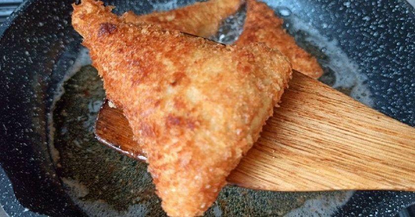 Пиріжки з тостового хліба подивитися рецепт