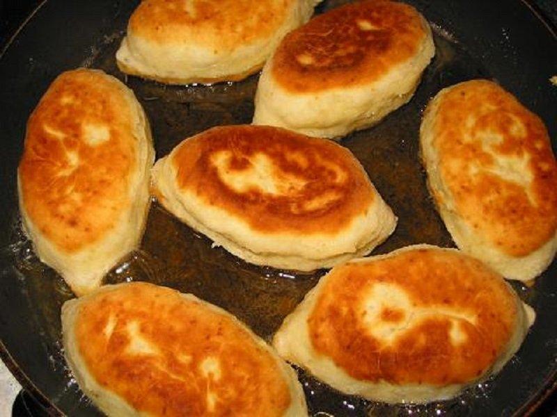 пирожки с картофелем на сметане