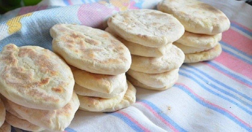 Пирожки на сухой сковороде