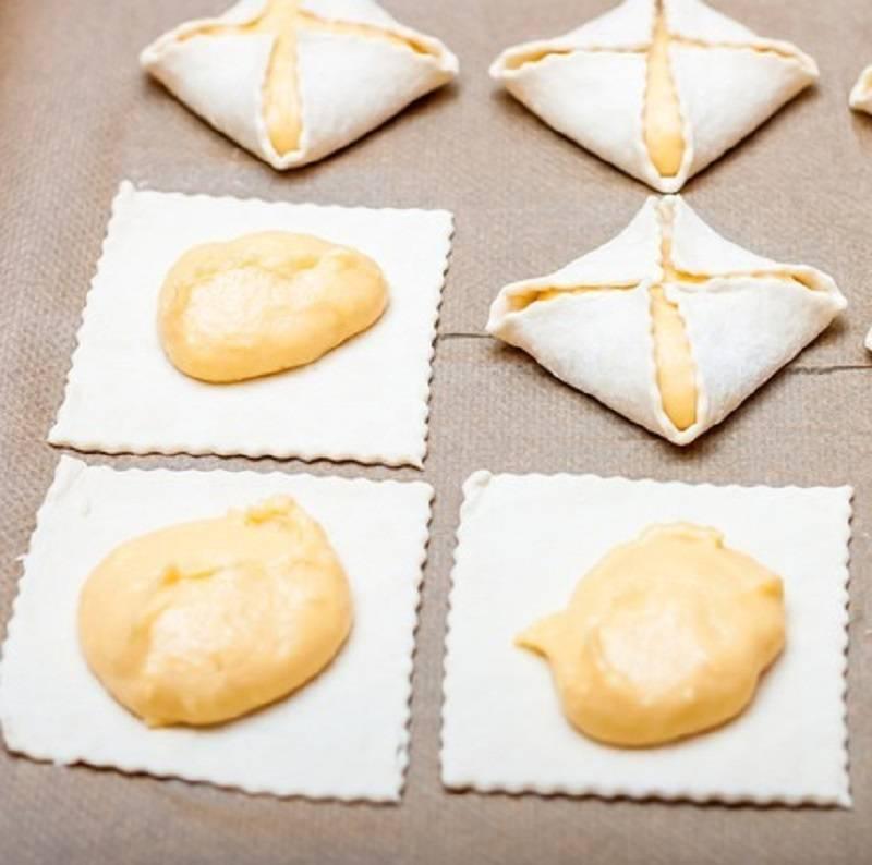 как приготовить пирожные из заварного теста