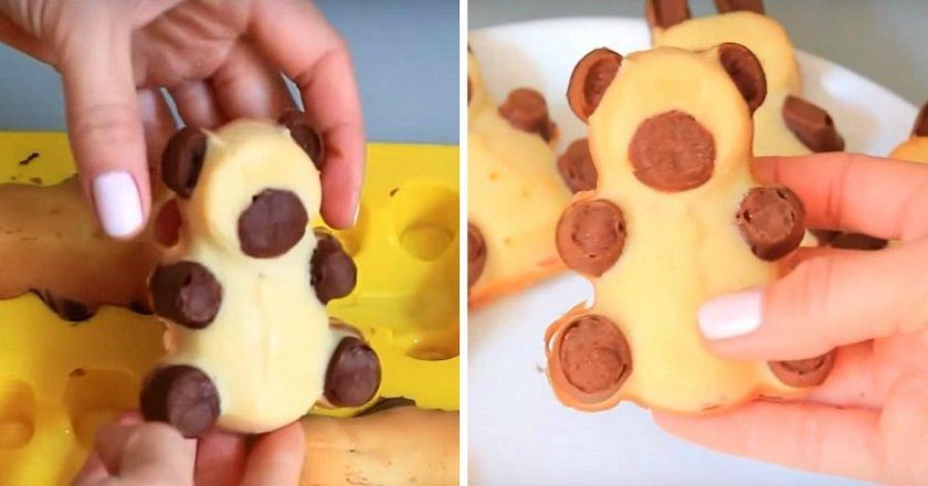 Пирожные «Барни»