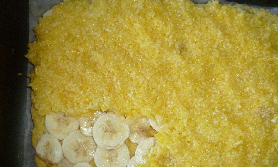 пирожные с бананом