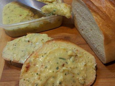 Плавленый сыр с шампиньонами
