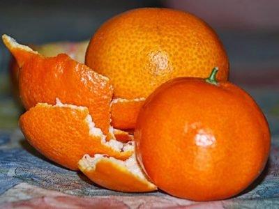Польза кожуры мандарина