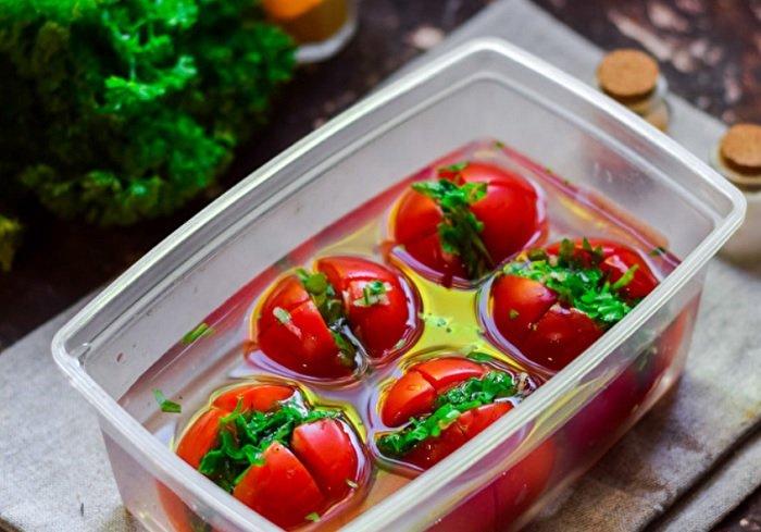 рецепт помидор по-армянски