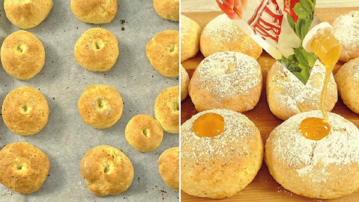 Пончики без смаження і без дріжджів