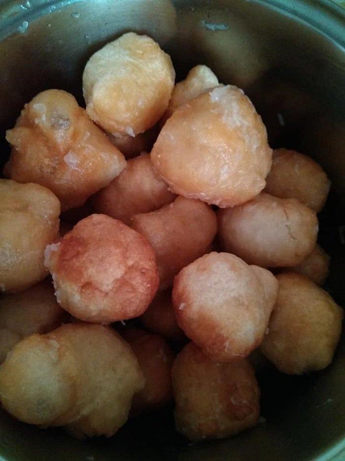 пончики к борщу