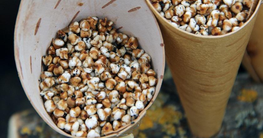 Попкорн из гречки