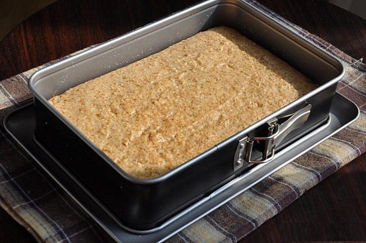 Как приготовить постное пирожное