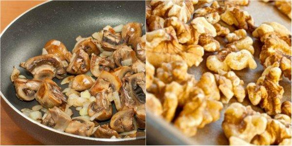 постный паштет с грибами