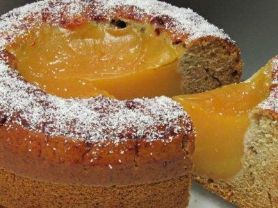 Постный пирог «Вулкан»
