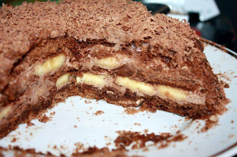 торт с пряниками без выпечки