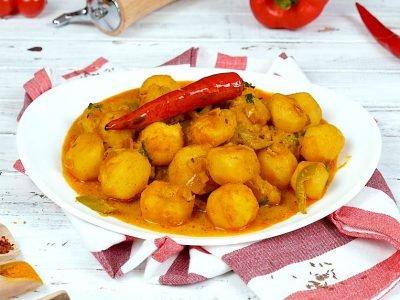 Пряный картофель масала