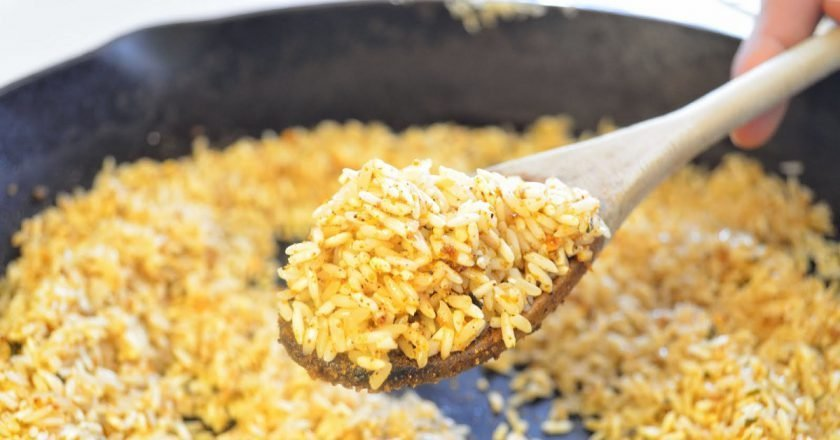 Пряный рис в мультиварке