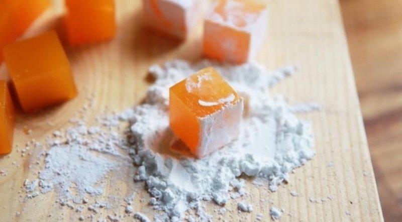 как приготовить лукум из мандаринов