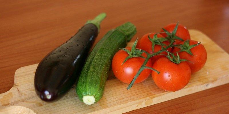 овощи на рататуй