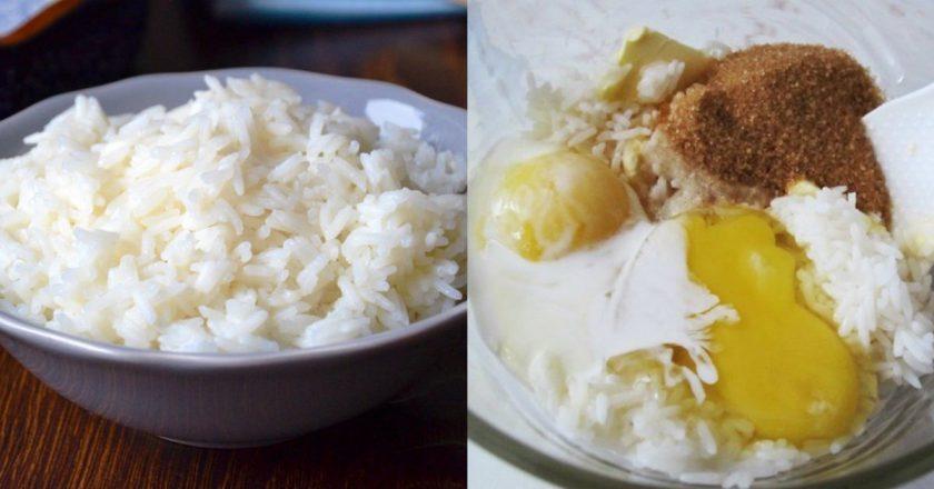 Рисовий пиріг - готуємо з покроковими фото