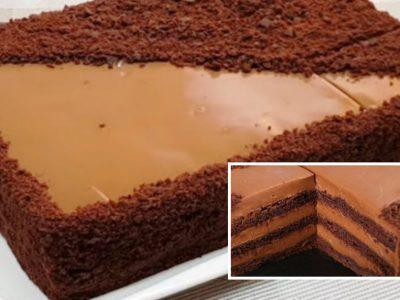 Рижский торт на сковороде