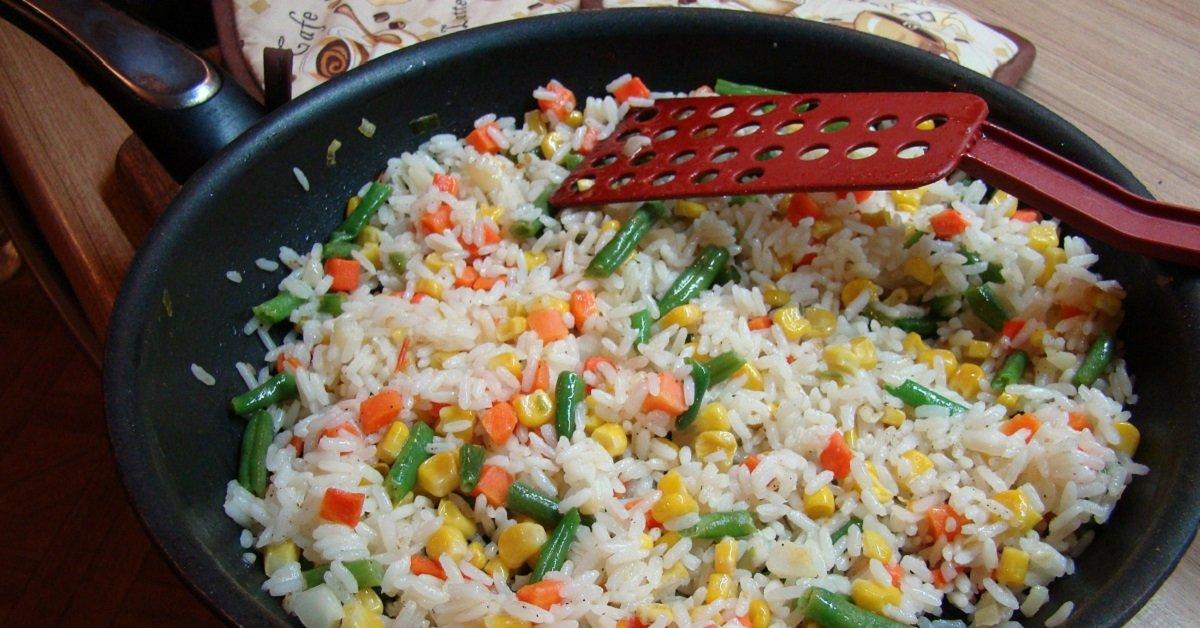 Рис с овощами в домашних условиях