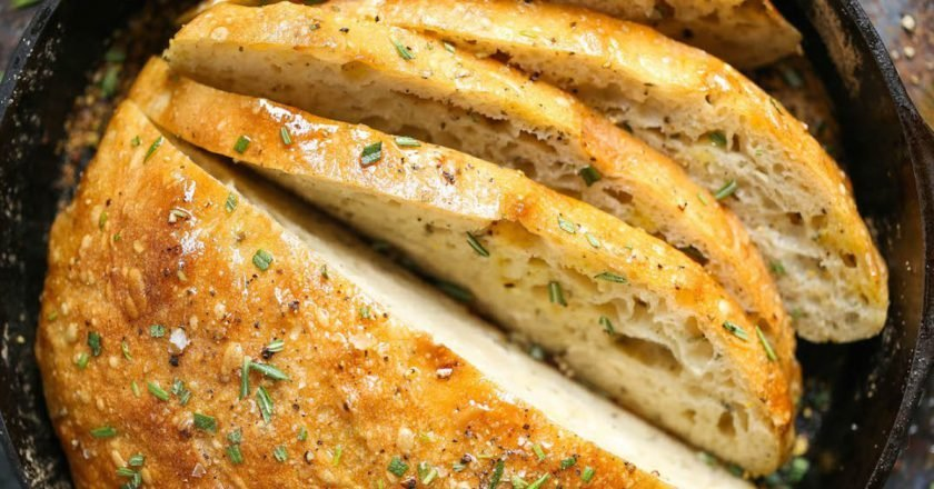 Розмариновый хлеб