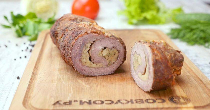 рулетики из свинины детский рецепт