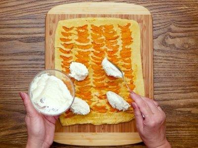 Рулет с абрикосами