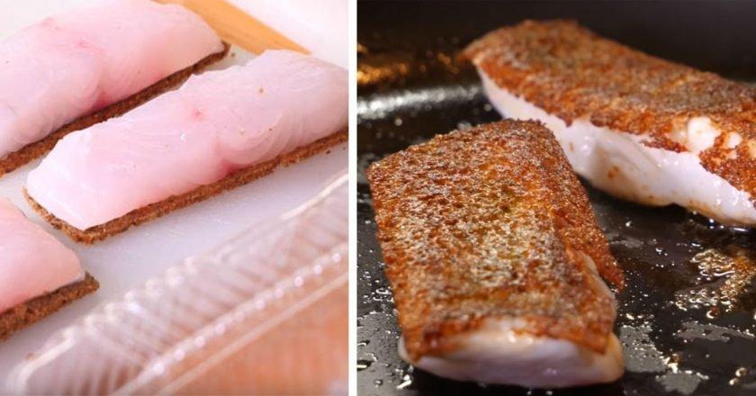 Рыба на хлебе