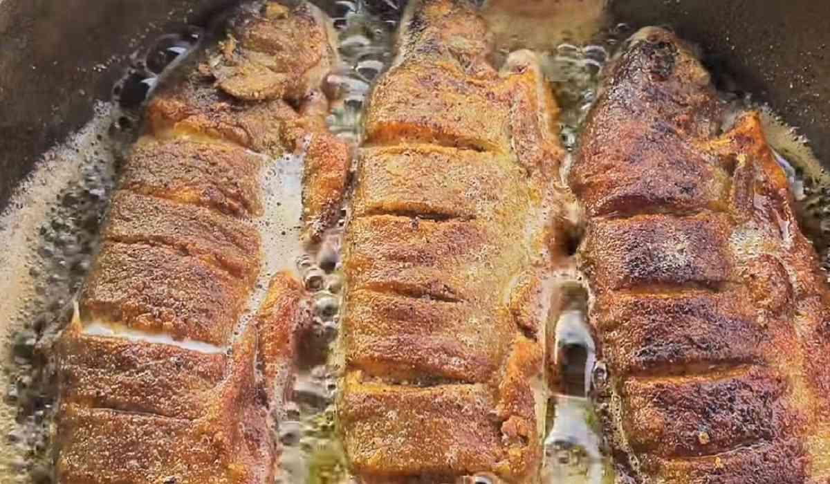 рыба в луковом соке