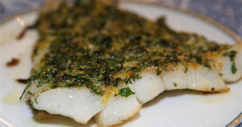 Рыба в пармезановой корочке