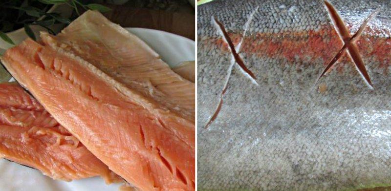 рыбная бандероль