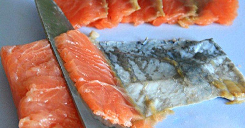 нарізане рибне філе
