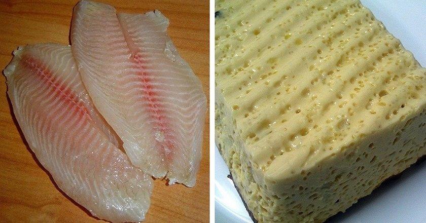 Рыбное суфле