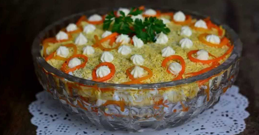 салат бунито рецепт не слоенный
