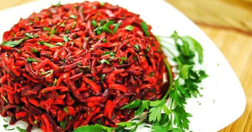 Салат для похудения «Метелка»